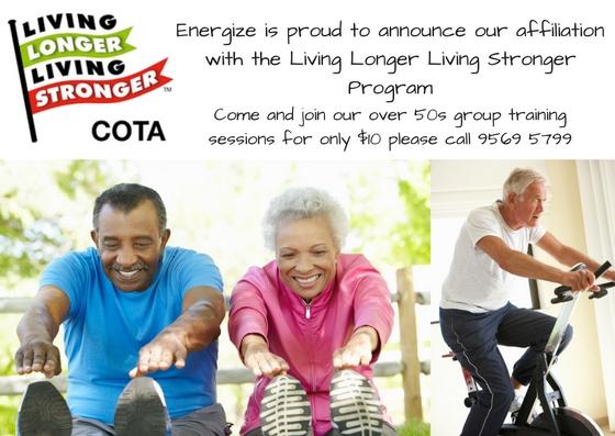 Living Longer Living Stronger Program