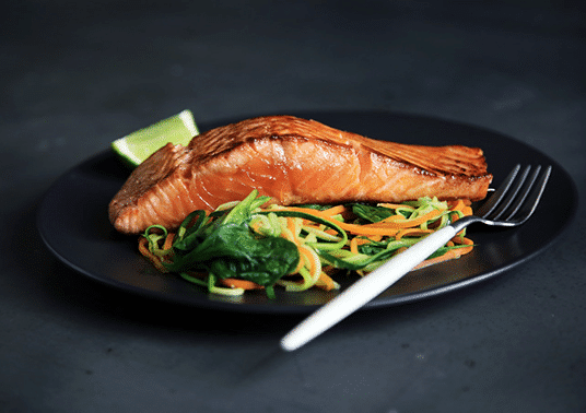 Nicole Moroney's Baked Side Of Salmon