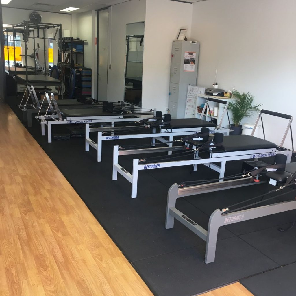 physiotherapy studio equipment