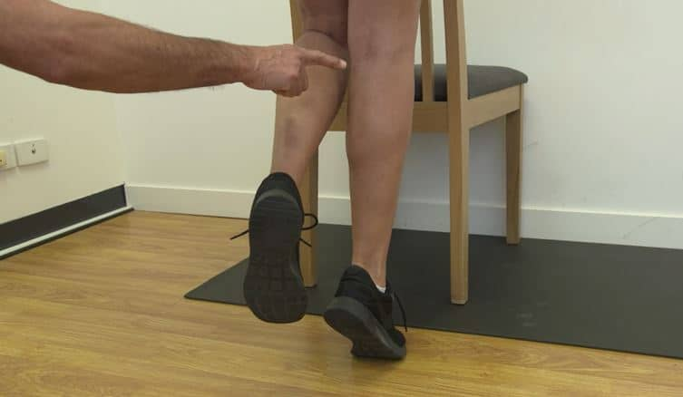 FEEL THE BURN: Single Leg Calf/Heel Raise